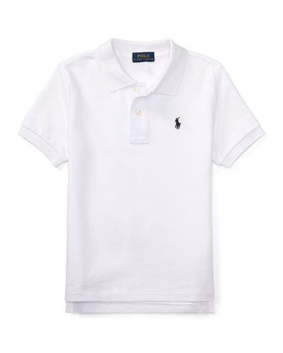 Short-Sleeve Logo Embroidery Polo Shirt  Size 2-3