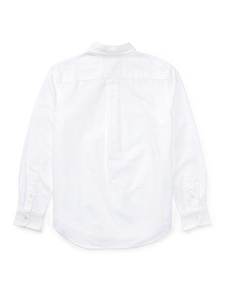 Cotton Oxford Sport Shirt, Size S-XL