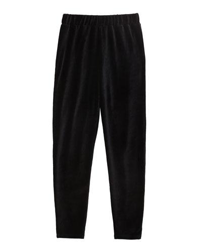 Girl's Velour Jogger Pants  Size 7-14