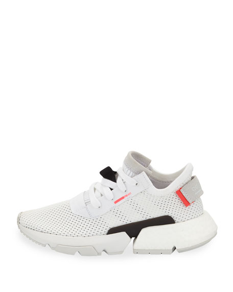 POD-S3.1 Knit Lace-Up Trainer Sneakers, Kids