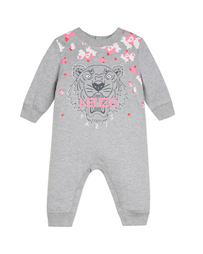 Tiger & Flower Graphic Coverall  Size 6-18 Months