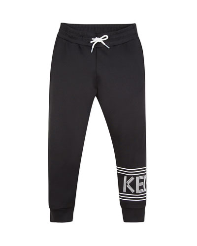 Logo Drawstring Lounge Pants  Size 8-12