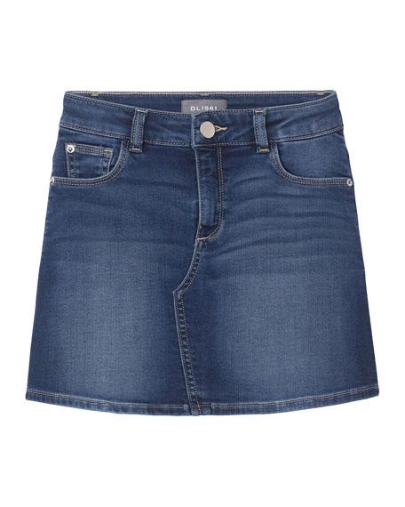 Girl's Jenny Denim Skirt, Size 7-16