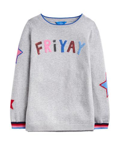 Girl's Miranda Friyay Sweatshirt  Size 4-12