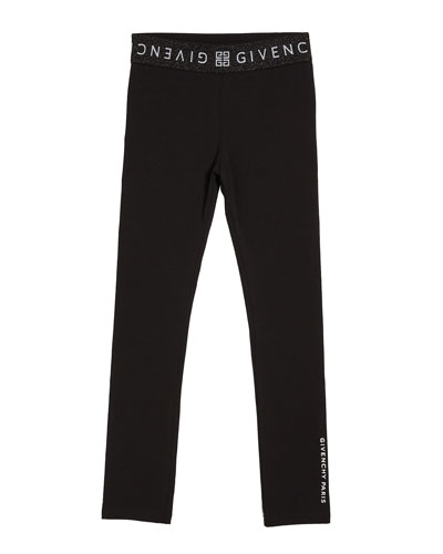 Girl's Logo Trim Lounge Pants  Size 4-10