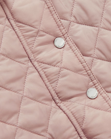 Ilana Quilted Hooded Jacket, Size 6M-2