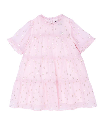 Girl's Melissa Tiered Dress  Size 3-24 Months