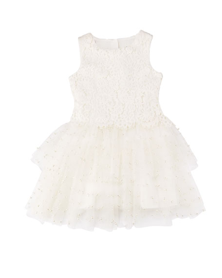 Special Occasion Tulle Dress, Size 4-8