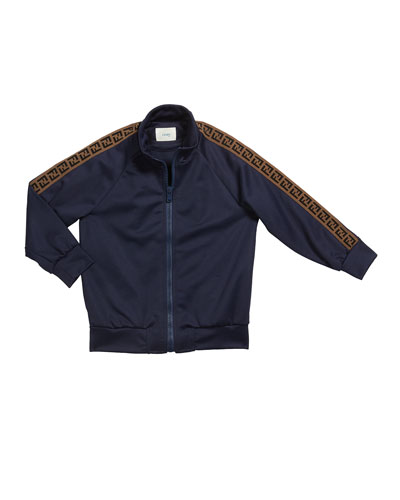 Kid's Track Jacket w/ FF Taping  Size 10-14