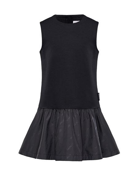 Fit-&-Flare Logo Dress, Size 8-14