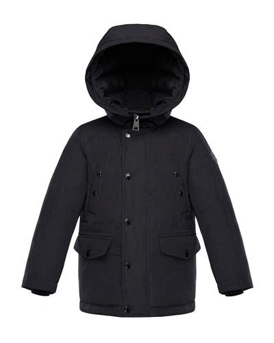 Salagou Logo-Back Hooded Jacket  Size 4-6