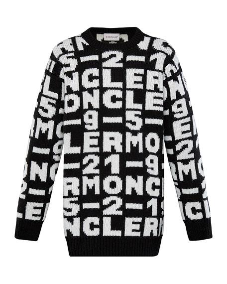 Knit Sweater Dress, Size 8-14