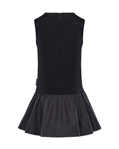 Fit-&-Flare Logo Dress, Size 4-6