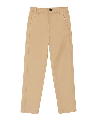 Boy's Trousers w/ Logo Patch  Size 3-14
