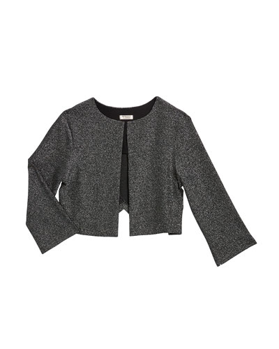 Girl's The Going Out Lurex Jacket  Size S-XL