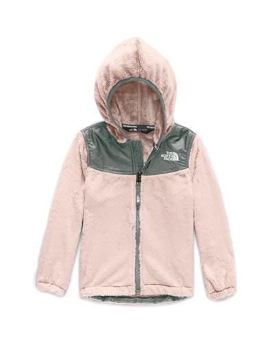 Girl's Oso Fleece Hooded Jacket  Size 2-4T