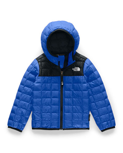 Boy's Quilted ThermoBall Hooded Jacket  Size 2-4T