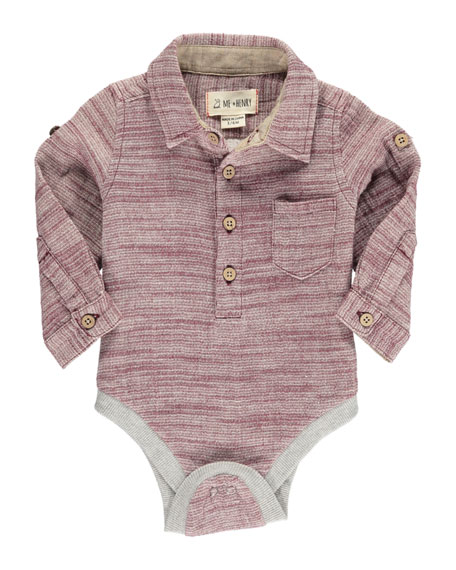 Textured Woven Bodysuit w/ Children's Book, Size 0-24 Months