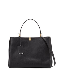 Le Dix Cartable Tote Bag, Black