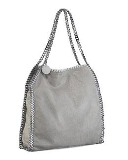 Falabella Small Shoulder Bag, Light Grey