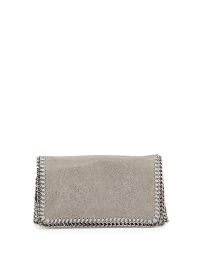 Falabella Small Crossbody Bag, Black