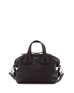 Nightingale Micro Waxy Leather Satchel Bag