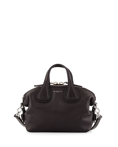 Nightingale Micro Waxy Leather Satchel Bag