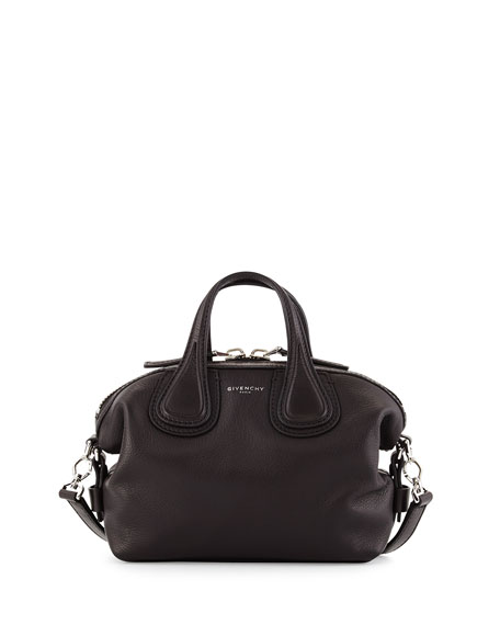 c0e55160c1ad Givenchy Nightingale Micro Waxy Leather Satchel Bag