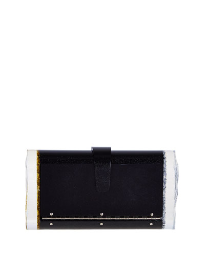 Lara Acrylic Backlit Clutch Bag