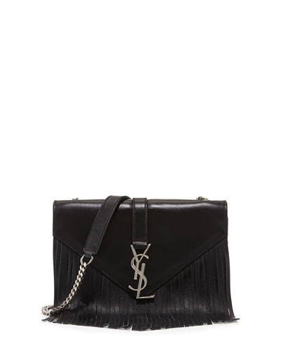 Monogram Small Fringe Shoulder Bag
