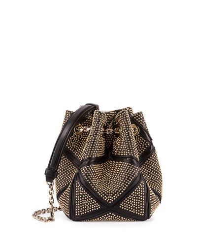 Prismick Studded Bucket Bag