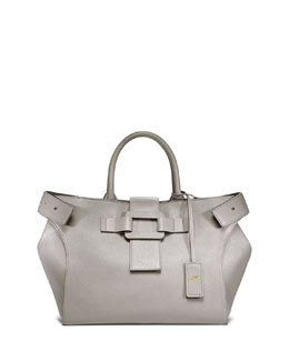 Pilgrim de Jour Small Shopping Tote Bag, Gray