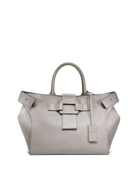 7dfa9c5a8336 Roger Vivier Pilgrim de Jour Small Shopping Tote Bag