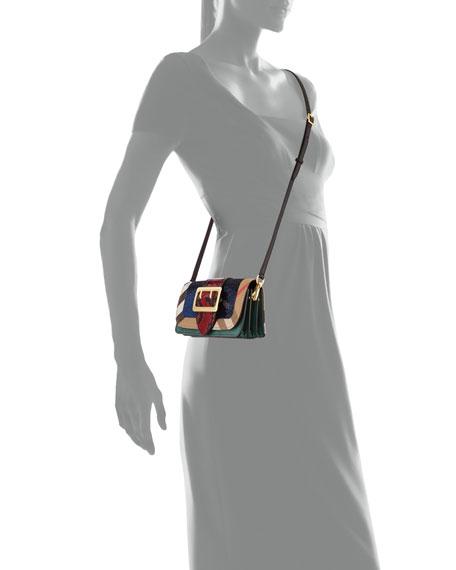 Laceby Sequined Shoulder Bag