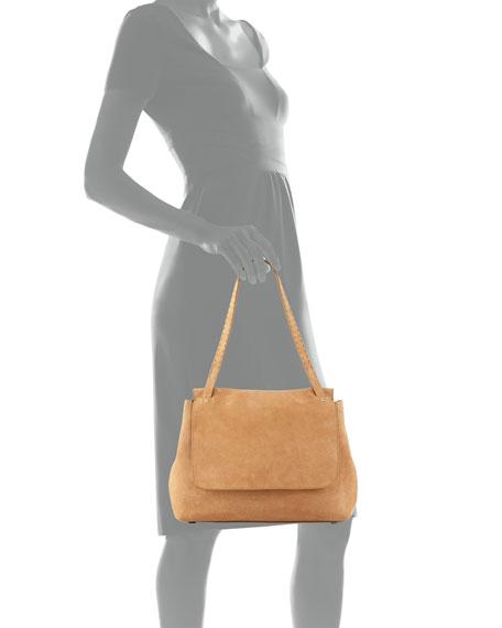 Sidekick Suede Shoulder Bag