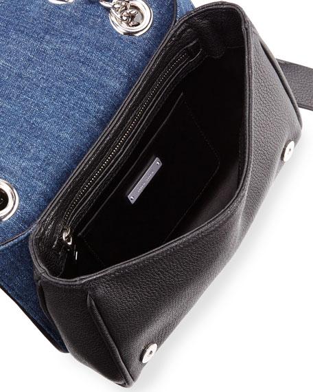 Miu Miu Club Collection Quilted Denim Shoulder Bag 2701a620ce465