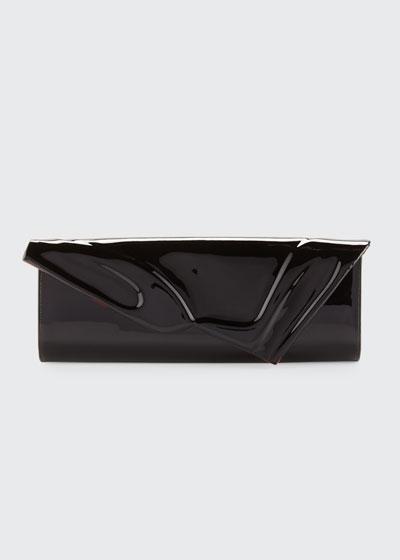So Kate Patent East-West Clutch Bag  Black