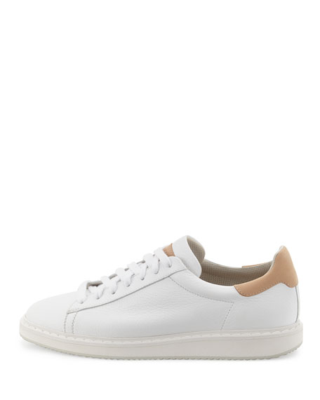 Men's Apollo Leather Sneaker, White