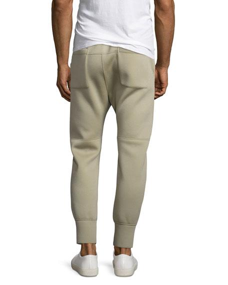 Curved-Leg Track Pants