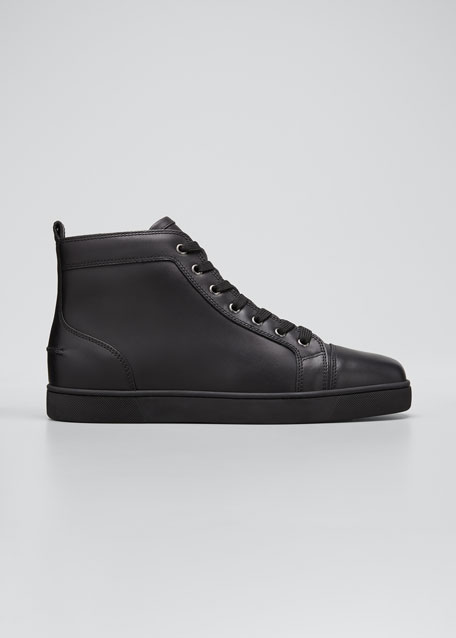 best sneakers a31cb bb96a Men's Louis Leather High-Top Sneakers