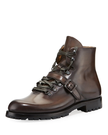 Image 1 of 1: Brunico Venezia Leather Hiking Boot