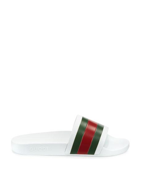 6d434ef1d14 Gucci Pursuit  72 Rubber Slide Sandals