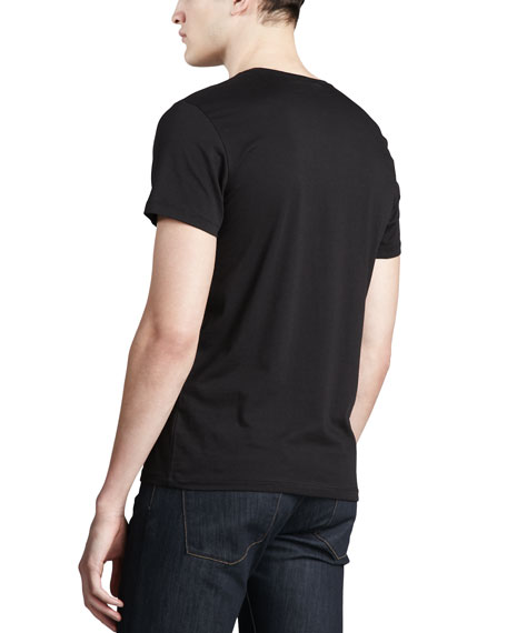 Crewneck T-Shirt, Black