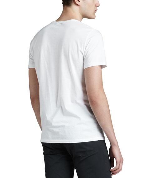 Crewneck T-Shirt, White