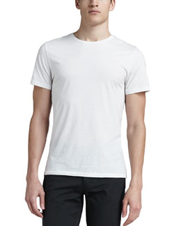 Theory Crew-Neck Tee, White