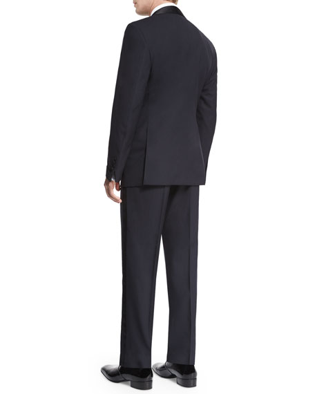 O'Connor Base Shawl-Collar Tuxedo, Navy
