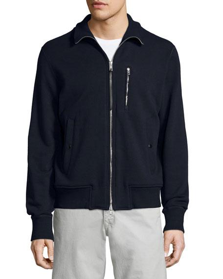 Trooper Full-Zip Track Jacket, Navy