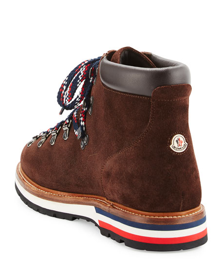 Men's Fashion Leather Mountain Boot, Brown