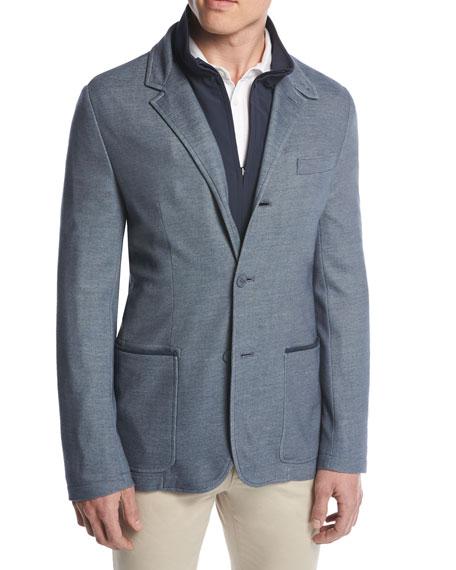 Two Times Three-in-One Blazer/Jacket