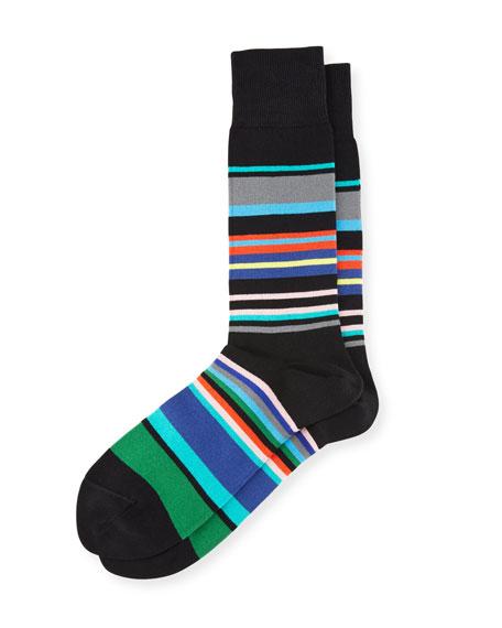 Multicolor Striped Socks